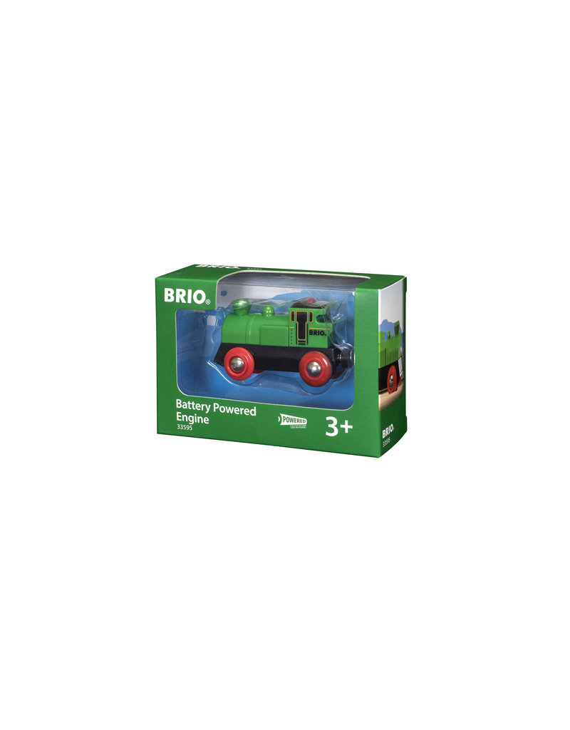 BRIO CORPORATION Battery Powered Engine