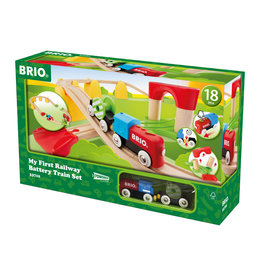 BRIO CORPORATION FIRST BATTERY TRAIN SET
