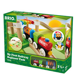 BRIO CORPORATION My First Railway Beginner Pack