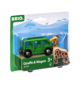 BRIO CORPORATION Giraffe and Wagon