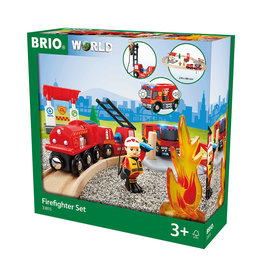 BRIO CORPORATION Firefighter Set