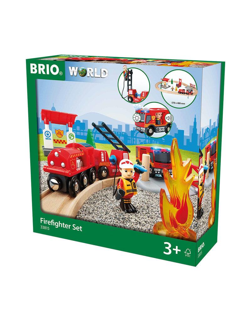 BRIO CORPORATION Firefighter Set