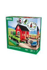 BRIO CORPORATION HORSE TRAIN SET