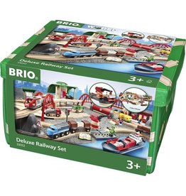 BRIO CORPORATION Deluxe Railway Set