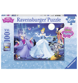 Ravensburger Adorable Cinderella (100 pc Glitter Puzzle)