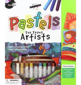 SPICE BOX Pastel Art