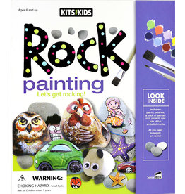 SPICE BOX Rock Painting