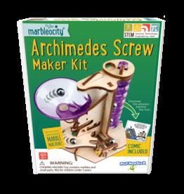 Playmonster Marbleocity Archimedes Screw