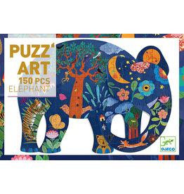 DJECO Puzz'art Elephant - 150pcs