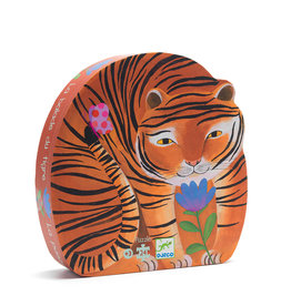 DJECO Silhouette Puzzles The Tiger's