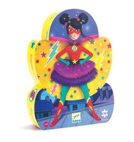 DJECO Silhouette Puzzles Super Star
