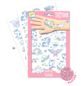 DJECO Tattoos Unicorns