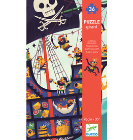 DJECO Giant Floor The Pirate Ship