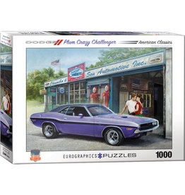 EUROGRAPHICS Plum Crazy Challenger by Nestor Taylor