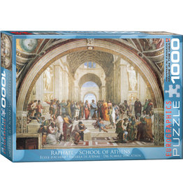 EUROGRAPHICS School of Athens by Raphael