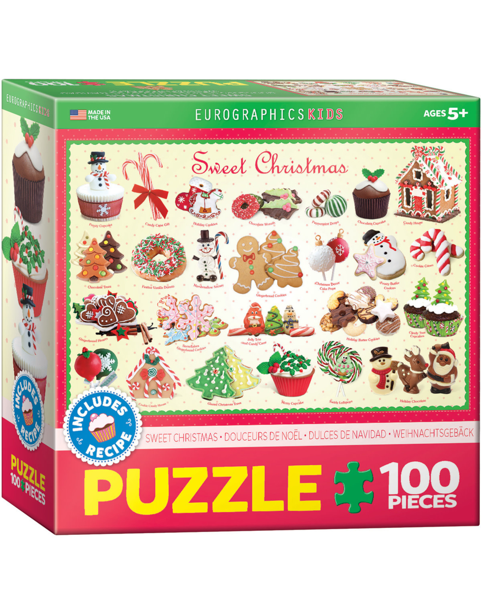 EUROGRAPHICS Sweet Christmas - Kids Sweets