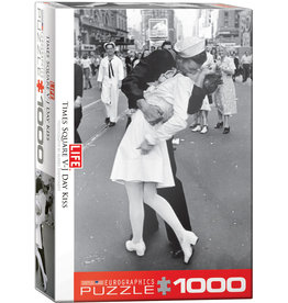 EUROGRAPHICS V-J Day Kiss in Times Square by Alfred Eisenstaedt