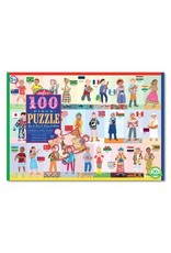EEBOO Children of the World 100 Piece Puzzle