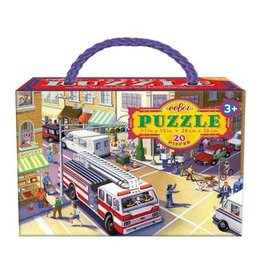 EEBOO Fire Truck 20 pc Puzzle