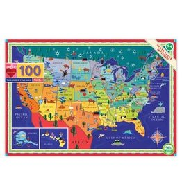 EEBOO This Land is Your Land 100pc Puzzle
