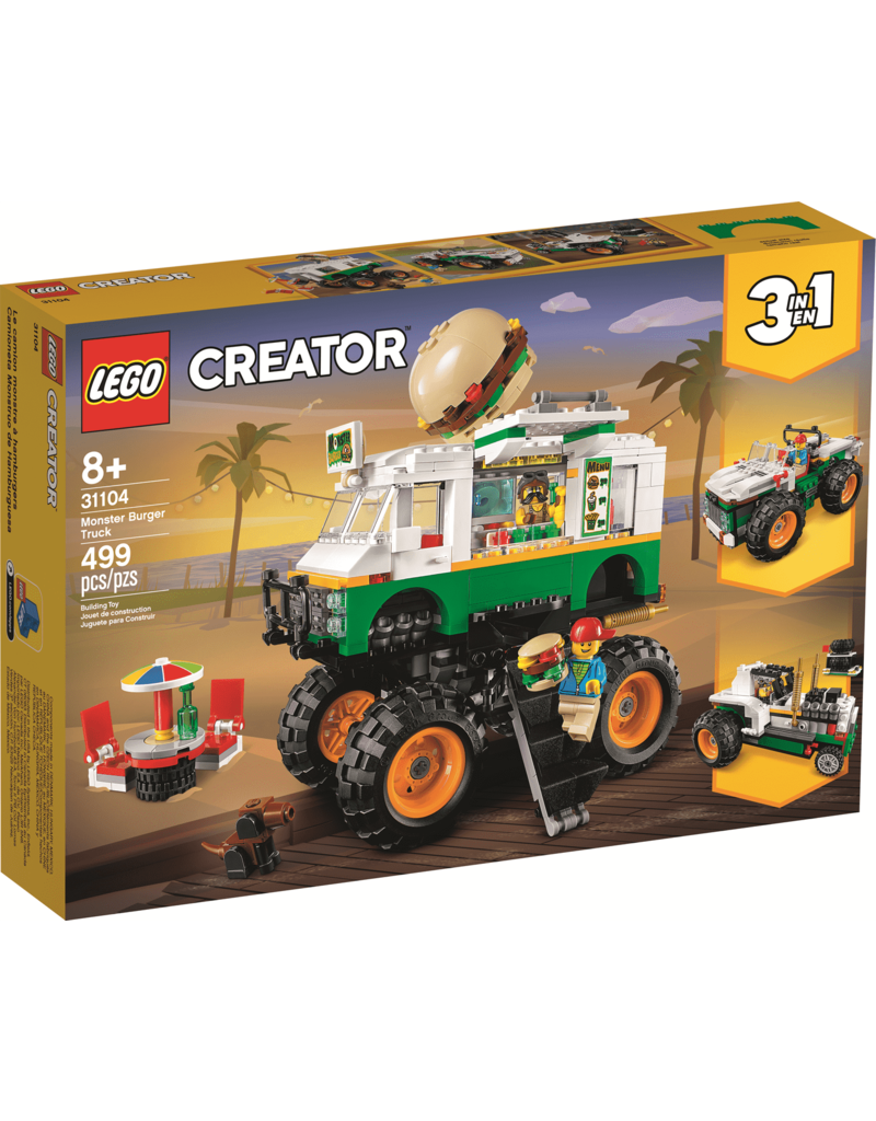 Lego Monster Burger Truck