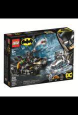 Lego Mr. Freeze Batcycle Battle
