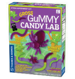 THAMES & KOSMOS Gross Gummy Candy Lab: Worms and Spiders