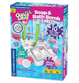 THAMES & KOSMOS Ooze Labs: Soap & Bath Bomb Lab