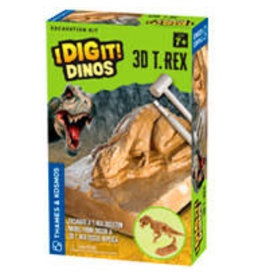 THAMES & KOSMOS I Dig It! Dinos - 3D T. Rex Excavation Kit