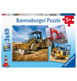 Ravensburger Digger at work!