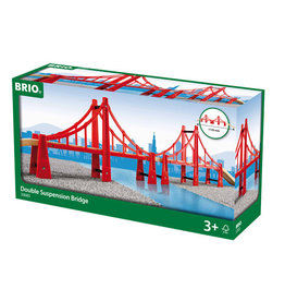 BRIO CORPORATION Double Suspension Bridge