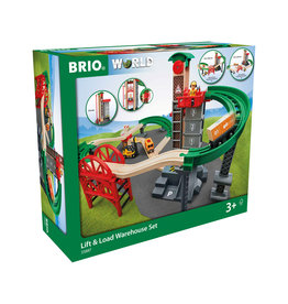 BRIO CORPORATION Lift & Load Warehouse Set