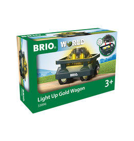 BRIO CORPORATION Light Up Gold Wagon