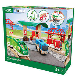 BRIO CORPORATION Travel Station Set