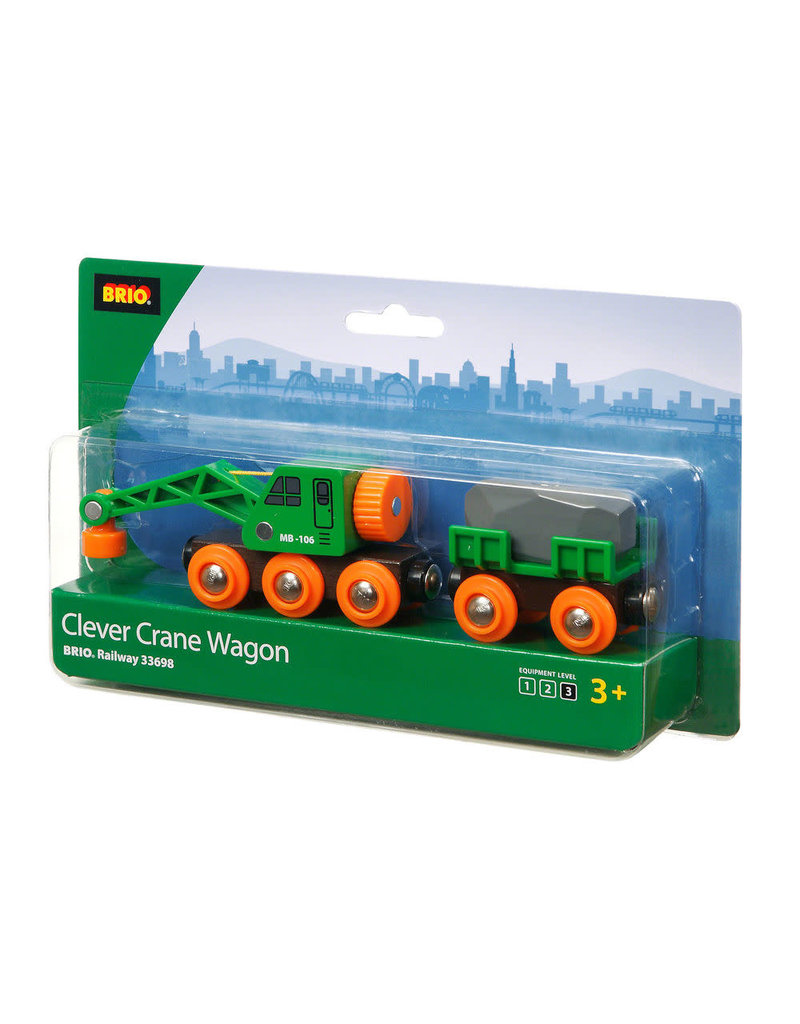 BRIO CORPORATION CRANE WAGON