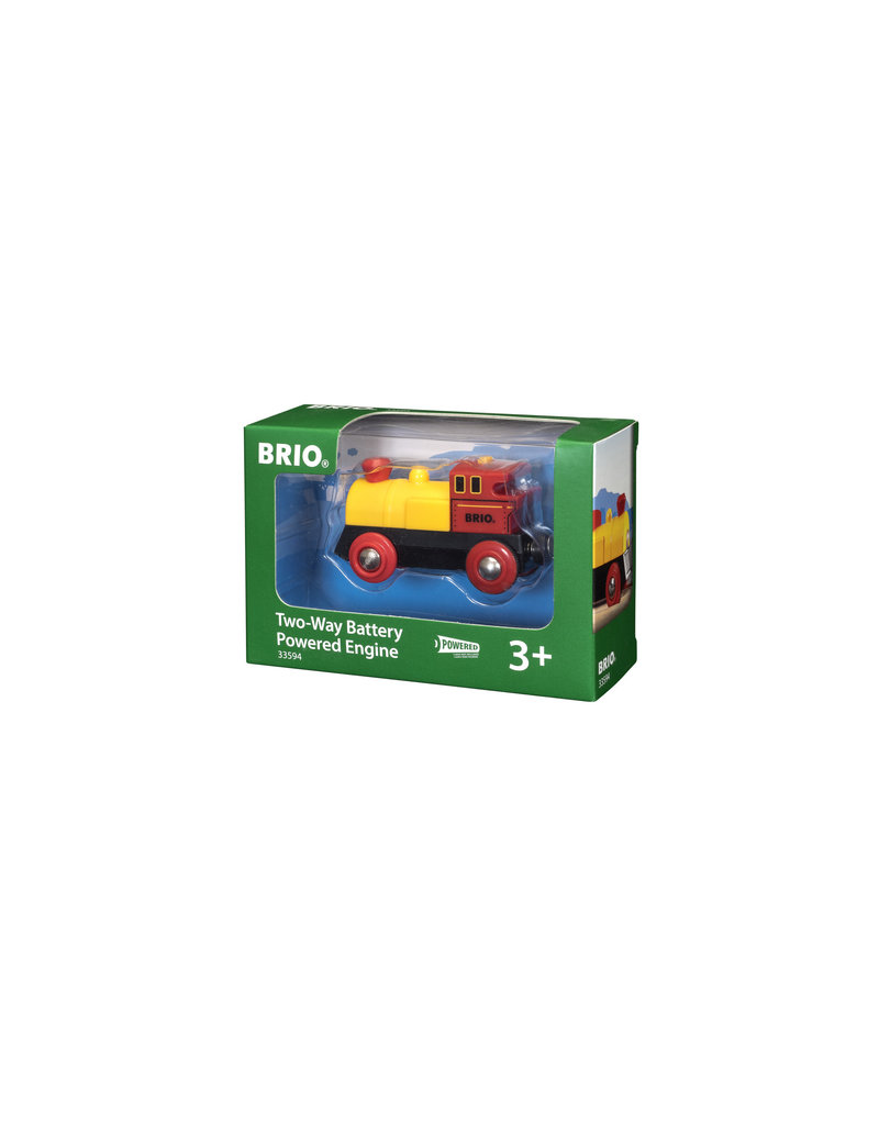 BRIO CORPORATION TWO WAY BATTERY TRAIN