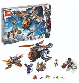 Lego Avengers Hulk Helicopter Rescue