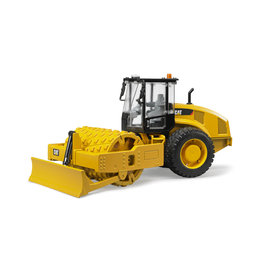 BRUDER TOYS AMERICA INC CAT Vibratory soil compactor with leveling blade
