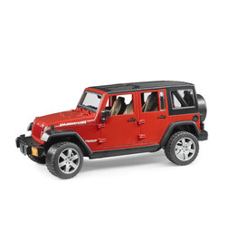 BRUDER TOYS AMERICA INC Jeep Wrangler Unlimited Rubicon