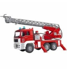BRUDER TOYS AMERICA INC MAN Fire engine with water pump with Light/Sound Mod.