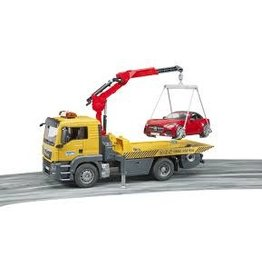 BRUDER TOYS AMERICA INC TGS Tow Truck w Roadster