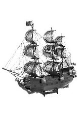Metal Earth Black Pearl Ship - BLACK