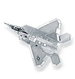 Metal Earth F-22 Raptor plane