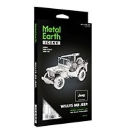 Metal Earth Jeep Willys