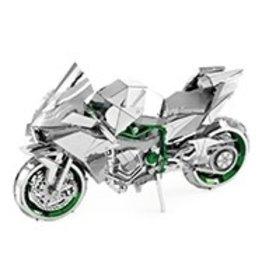 Metal Earth Kawasaki Ninja Motorcycle - COLOR