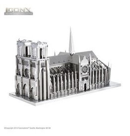 Metal Earth Notre Dame Cathedral