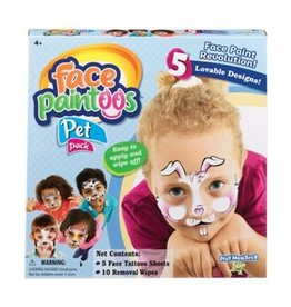 Playmonster FACE PAINTOOS - PET PACK