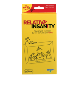 Playmonster Relative Insanity Card Game expansion pack