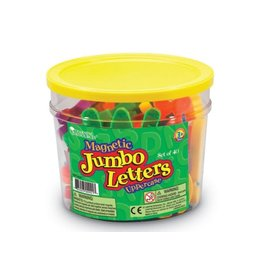LEARNING RESOURCES JUMBO MAGNETIC UPPERCASE LETTERS (40 PC)