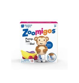Educational Insights ZOOMIGOS MONKEY WITH BANANA CAR